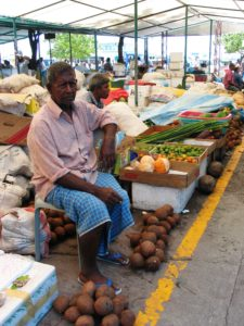 Fruit and vagetable markets. Maldives 2005. Photo: AusAID